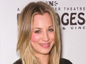 Big Bang Theory's Kaley Cuoco designs a pair of jeans for charity.