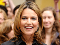 Savannah Guthrie takes her seat as co-anchor on NBC's Today show.