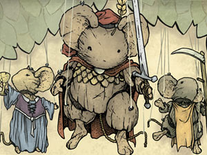 Archaia Free Comic Book Day Mouse Guard