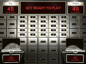 Screenshot from online game &#39;Bank Job&#39;