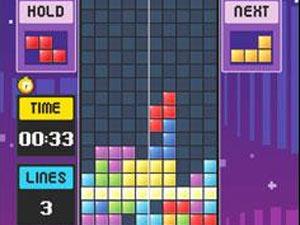 Screenshot from Tetris Mobile