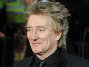 Martin Scorsese's 'Hugo' Royal performance: Rod Stewart and his family