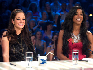 Tulisa Contostavlos and Kelly Rowland