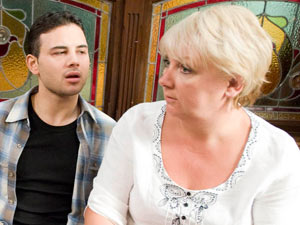 Jason is shocked to hear that Eileen has invited Paul and Lesley for Christmas dinner