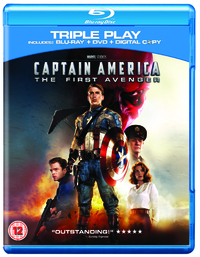 Captain America, The First Avenger Blu Ray