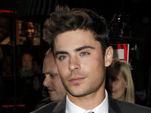 Zac Efron New Year's Eve premiere, LA