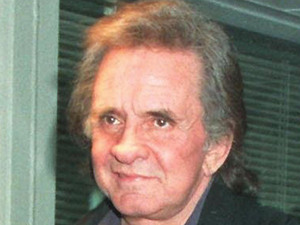 Country and Western singer Johnny Cash