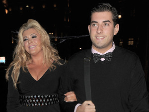 Gemma Collins and James Argent at 'A night with Nick' in aid of The Stroke Associaton held at Swarovski London
