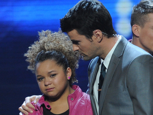 X Factor USA top 5 results show gallery: Steve comforts Rachel