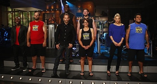 The final four weigh-in The Biggest Loser