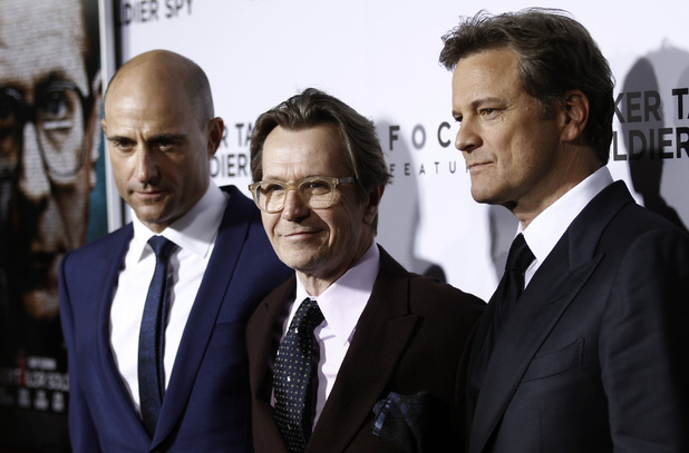 Mark Strong, Gary Oldman and Colin Firth