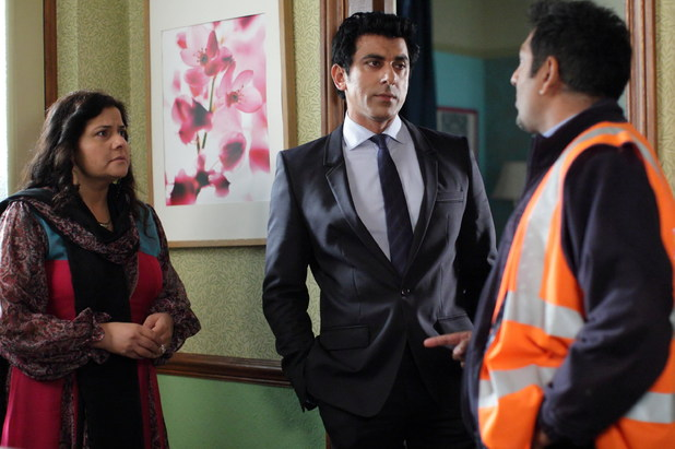 Masood arrives wanting to spend time with Kamil