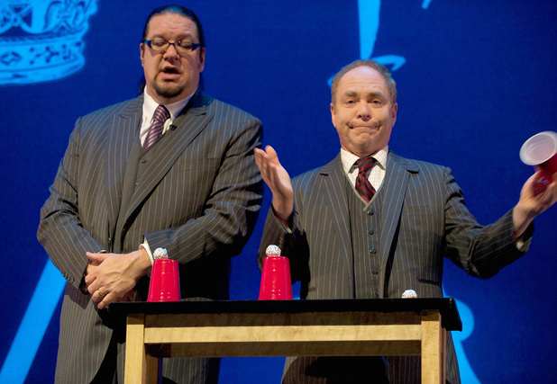 The Royal Variety Performance 2011: Penn and Teller