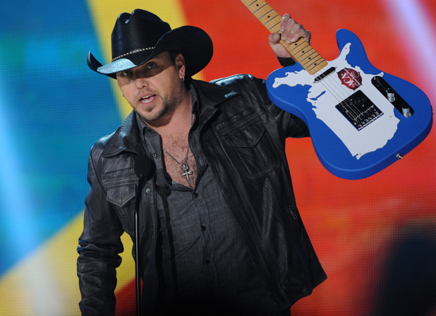 Jason Aldean at the American Country Awards 2011 on Fox