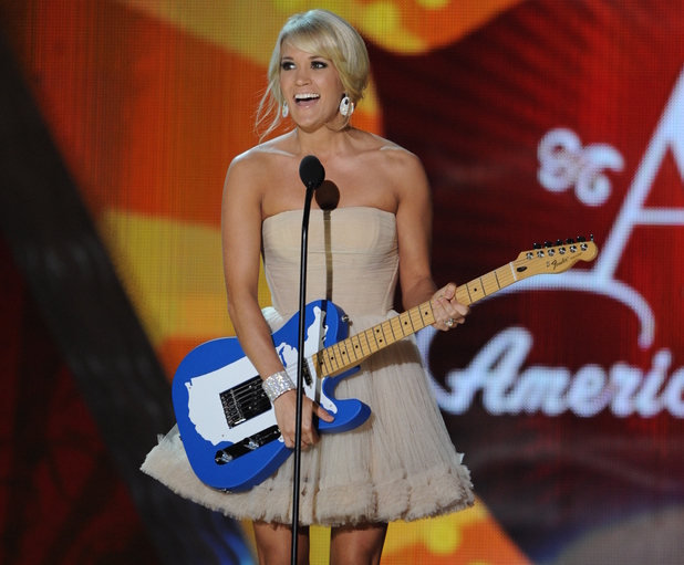 Carrie Underwood at the American Country Awards 2011 on Fox