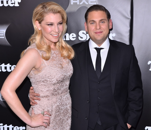 Ari Graynor and Jonah Hill