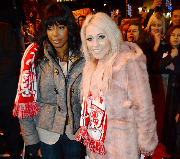 X Factor finalist Amelia Lily returns to her hometown of Middlesborough with her mentor Kelly Rowland. Amelia played a small gig at The Empire Theatre