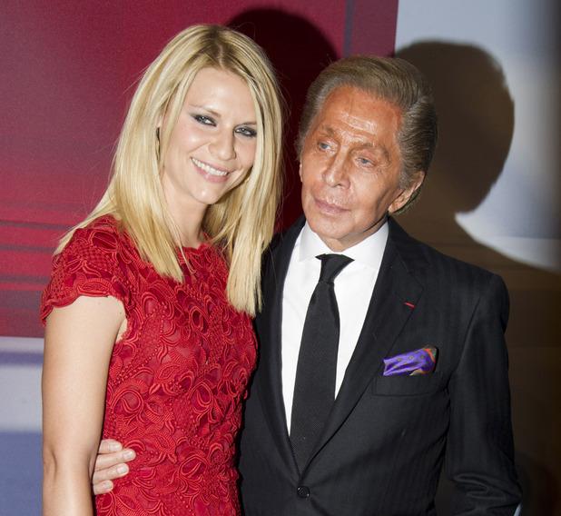 Claire Danes and Valentino Garavani