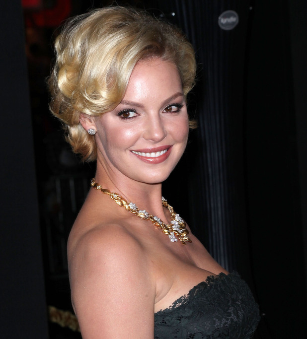 Katherine Heigl Los Angeles premiere of 'New Year's Eve' at Grauman's Chinese Theatre. Hollywood, California - 05.12.11 Mandatory Credit: Brian To/WENN.com