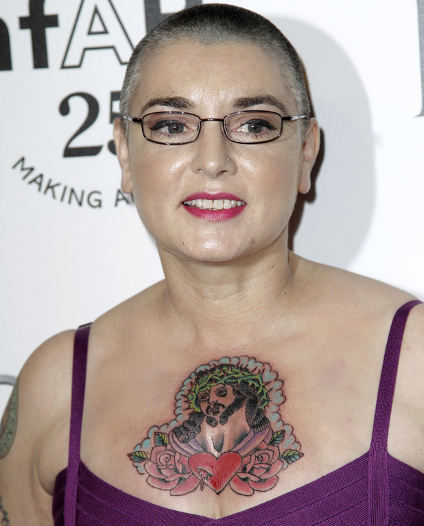 Sinead O'Connor amfAR's Inspiration Gala in Los Angeles,