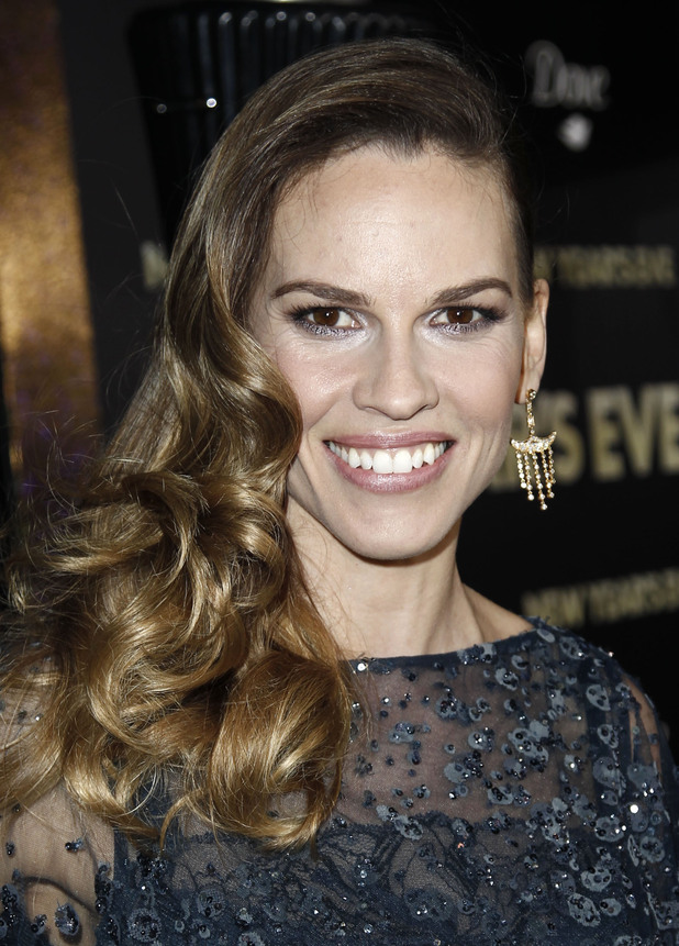 Hilary Swank New Year's Eve premiere, LA