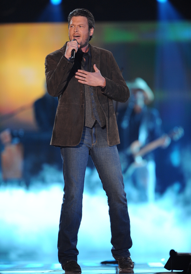 Blake Shelton at the American Country Awards 2011 on Fox