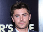 Zac Efron donates clothes to charity
