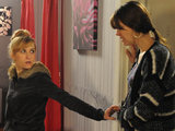 Becky reassures Tracy that Steve turned her down at the hotel