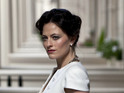 Take a look at photos of Spooks star Lara Pulver in the new series of Sherlock.