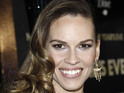 Hilary Swank says that people should eat what they want at the holidays.