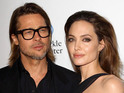 Angelina Jolie and Brad Pitt were proud of their Thanksgiving cooking efforts.