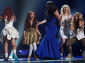 "X Factor winners thank ""lovely"" Simon Cowell for all his support."