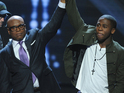 "The X Factor star feels ""blessed"" to become ""a part of the Epic family"" with LA Reid."