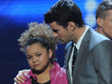 Rachel Crow was sent home after Nicole Scherzinger sent the results to deadlock.