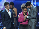 X Factor judge Nicole Scherzinger was booed following Rachel Crow's exit last week.