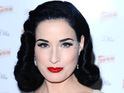 "Dita Von Teese says she only wants ""voluptuous"" girls modeling her lingerie."