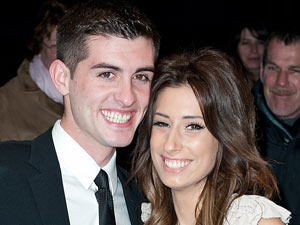 Stacey Solomon and Aaron Barnham