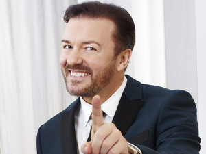 Ricky Gervais hosting 68th Annual Golden Globe Awards -