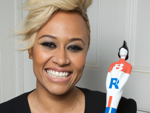 Emeli Sande wins the Brits Critics Choice Award