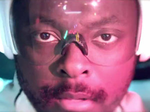 will.i.am: 'T.H.E' video still