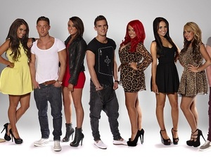 The full cast of Geordie Shore Series 2