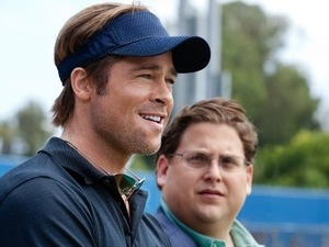 Money Ball Jonah Hill, Brad Pitt