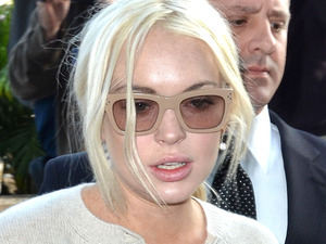 Lindsay Lohan probation hearing, Los Angeles, America - 14 Dec 2011