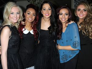 X Factor Winners' Glamour magazine dinner: Little Mix and Tulisa Contostavlos