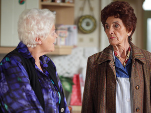 Dot learns that Pat has discharged herself from hospital