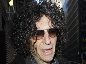 Howard Stern at The Ed Sullivan Theater for &#39;The Late Show with David Letterman&#39;.