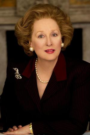 Meryl Streep as Maggie Thatcher in 'The Iron Lady'