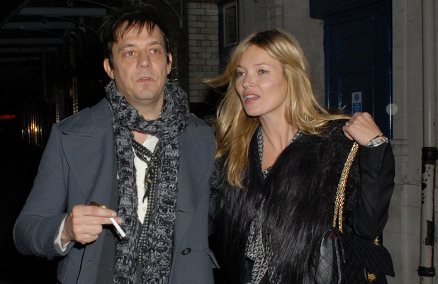 Kate Moss and Jamie Hince, leaving  J.Sheekey Seafood Restaurant London