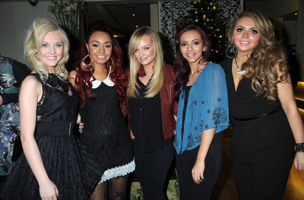X Factor Winners' Glamour magazine dinner: Little Mix and Emma Bunton