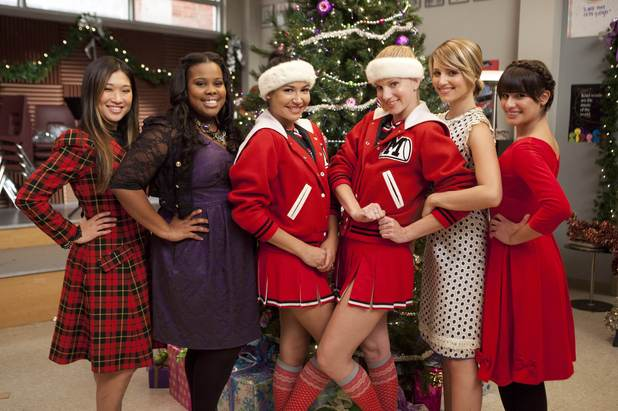 Glee S03E09: &#39;Extraordinary Merry Christmas&#39; behind the scenes